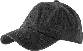 black acid wash hat