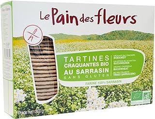Le Pain Des Fleurs - Panes crujientes y tostadas Sin gluten, 2 x 300 g