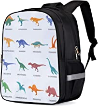Unisex Kids' Backpack for Preschool and Kindergarten Reptile Personalized 3D Printed Durable and Lightweight Bookbag Lunch Bag Travel Bag Gym Bag