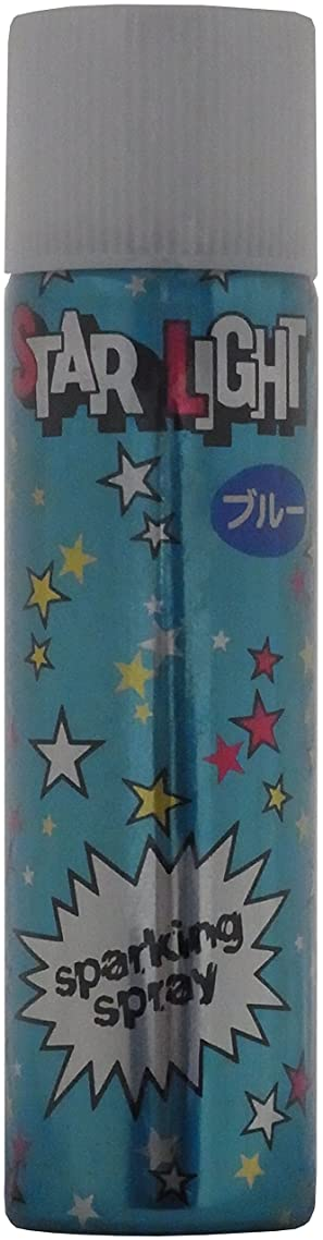 水差しチャンピオンめまいスターライト(かつら用ラメ入りスプレー) ブルー 80g