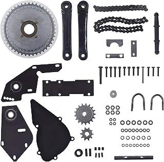 sthus Black Shifter Kit Jackshaft Kit Fits Regular 415 Chain 66cc 80cc Gas 2 Stroke Motorized Bike Bicycle