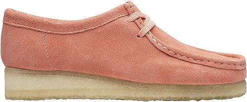 Clarks Originals Femme Wallabee Suede Coral Chaussures 39 39 EU  vente directe d'usine