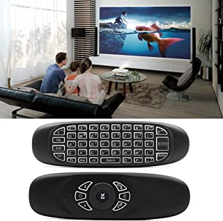 ALICE C120 Back-light Air Mouse 2.4GHz Wireless Keyboard 3D Gyroscope Sense Android Remote Controller for PC, Android TV Box/Smart TV,Game Devices