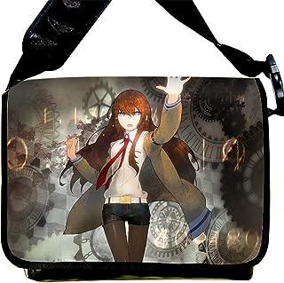 Siawasey Steins Gate Anime Cartoon Cosplay Backpack Messenger Bag Shoulder Bag