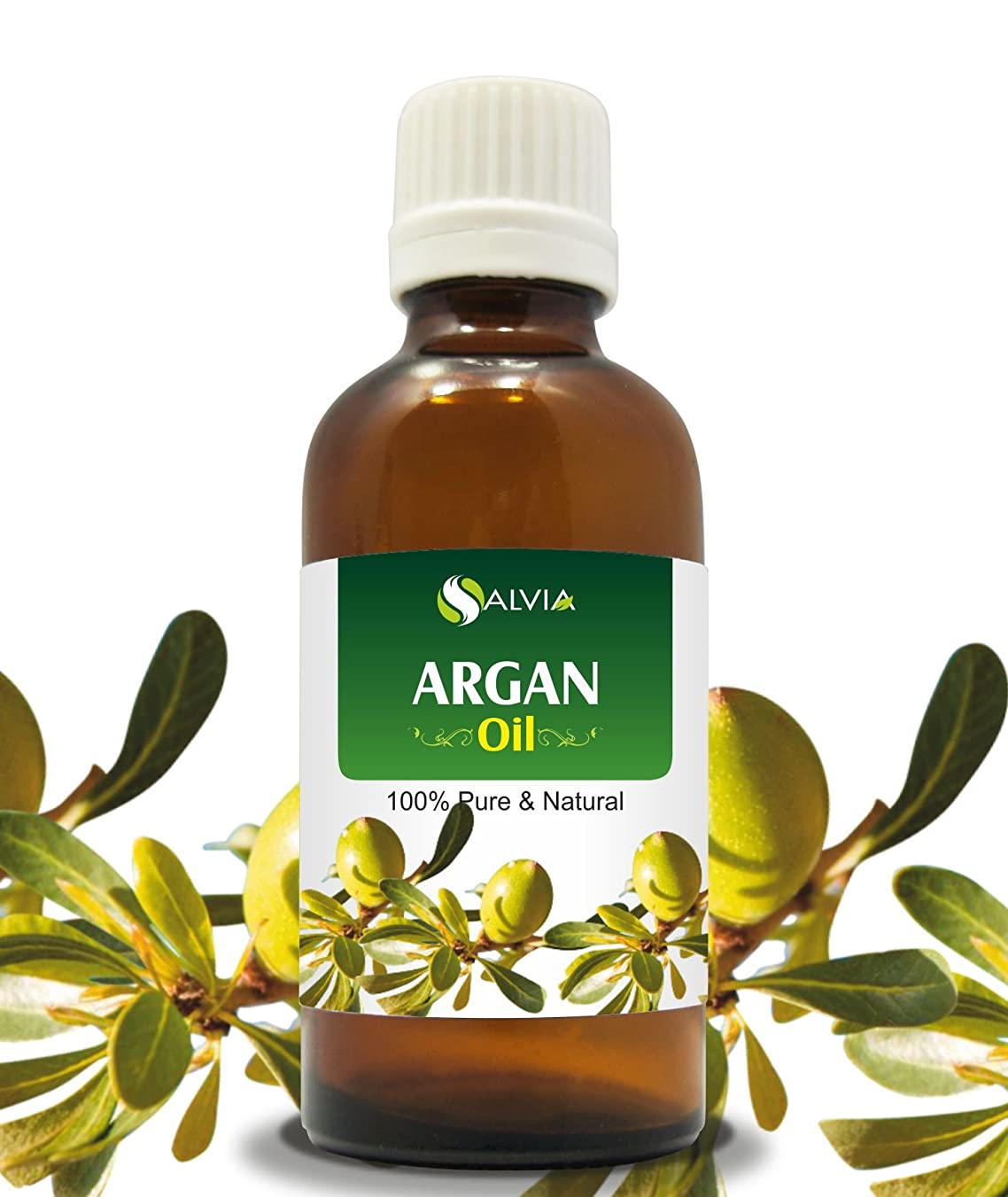 細部存在するカートンARGAN OIL 100% NATURAL PURE UNDILUTED UNCUT OILS 50ML