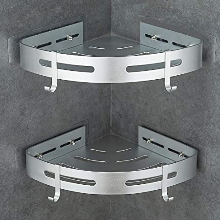 Gricol Estante de Ducha Sin Taladrar en Aluminio Aeronáutico ...