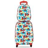 Amazon.com: ZincFlyte Flyte ZC03909 Kids Luggage Scooter 18 ...