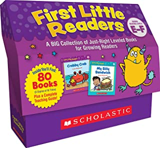 First Little Readers Guided Reading Levels E & F: A Big Collection of Just-Right Leveled Books for Growing Readers