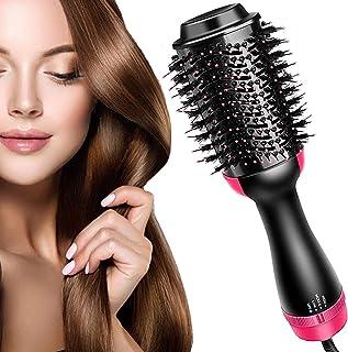 Hair Dryer Brush, LEMOCA Hot Air Brush 3 in 1 One Step Hair Dryer and Styler Volumizer for Straightening, Curling, Salon N...