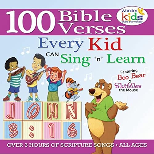100 Bible Verses Every Kid Can Sing And Know By The Wonder Kids On Amazon Music Amazon Com