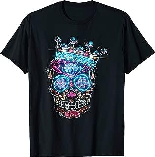 Sugar Skull Bling Rhinestone T-Shirt