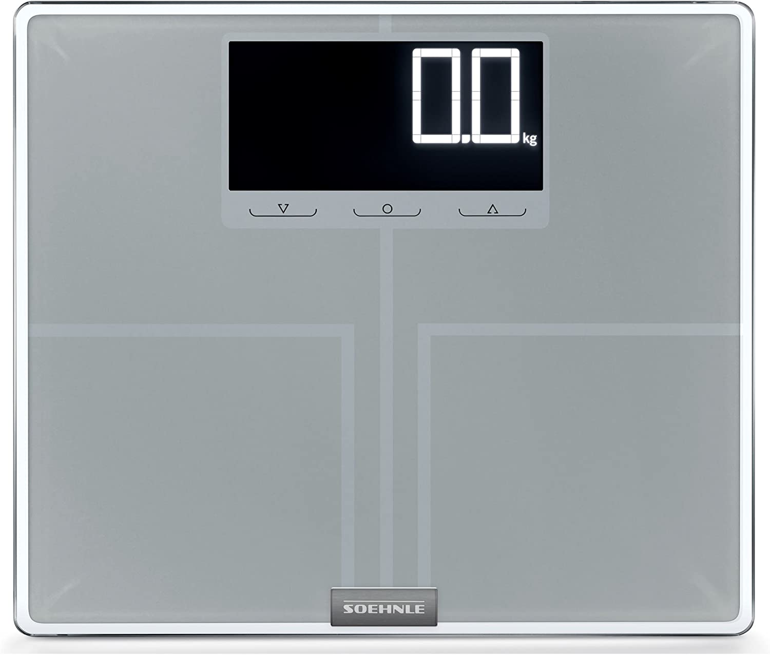 Soehnle 63869 Shape Sense Profi Digital Bathroom Scale   Silver