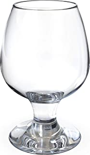 very large brandy glass