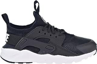 Nike Huarache Run Ultra Little Kids' Shoes Black/White 859593-002