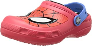 Crocs Boys' CC Spider-Man Lined Clog
