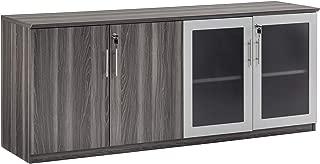 Safco Medina Cabinet, Gray Steel