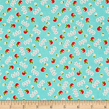 Riley Blake Designs Riley Blake Farm Girl Vintage Apple Cottage Green, Fabric by the Yard