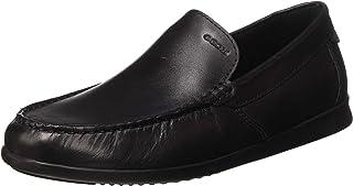 حذاء رجالي بدون كعب مسطح من GEOX U SILE A