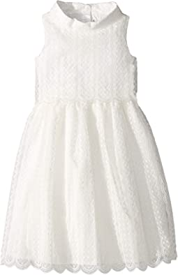 Embroidered Tiered Dress (Toddler/Little Kids/Big Kids)