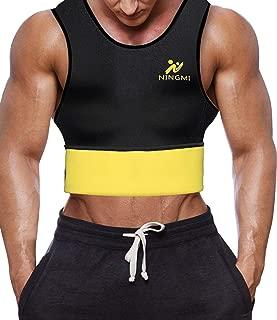 Men Tummy Control Hot Sweat Vest Slimming Sauna Shirt Neoprene Workout Weight Loss Sauna Vest