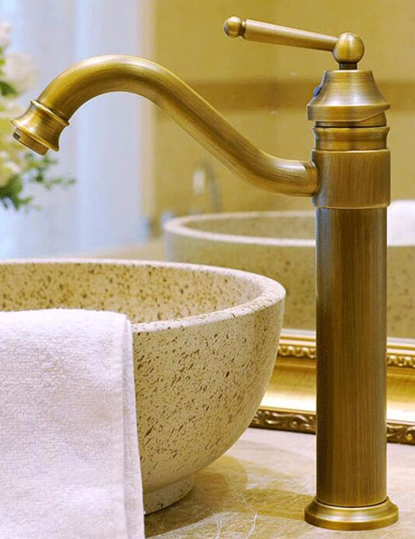 Hlluya Professional Sink Mixer Tap Kitchen Faucet Antique faucet antique faucets full copper wash basin mixer
