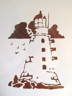 Best lighthouse stencils free Reviews