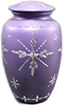 eSplanade Cremation urn Memorial Container Jar Pot | Cramation Urns | Full Size Standard Urns | Metal Urns | Burial Urns.