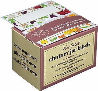 Boîte de 100 étiquettes autocollantes pour chutneys/confitures/conserves