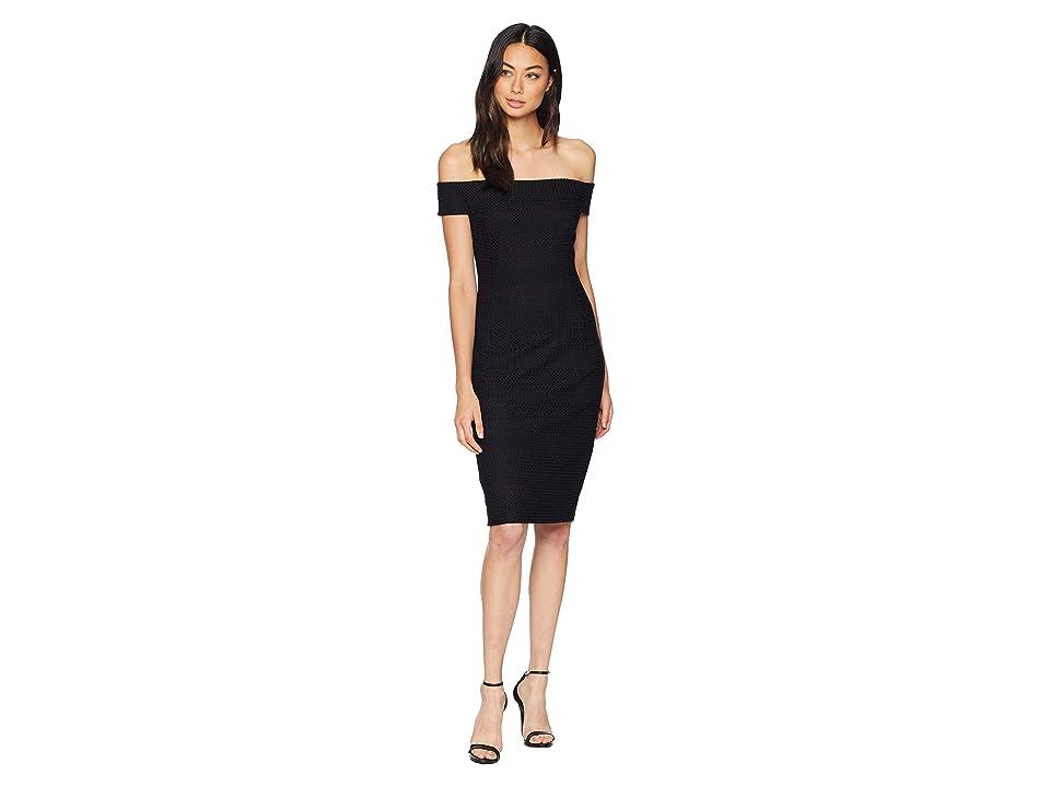 Trina Turk La Loma Dress (Black) Women