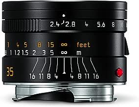 Leica 11671 Summarit-M 35mm/f2.4 ASPH Wide-Angle Lens, Black