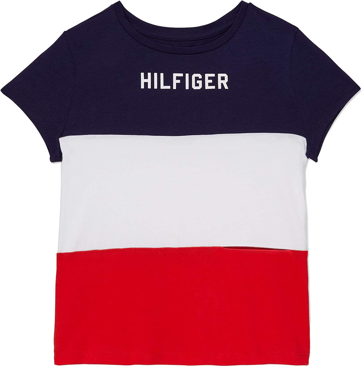 Tommy Hilfiger Girls Adaptive T-Shirt with Port Access