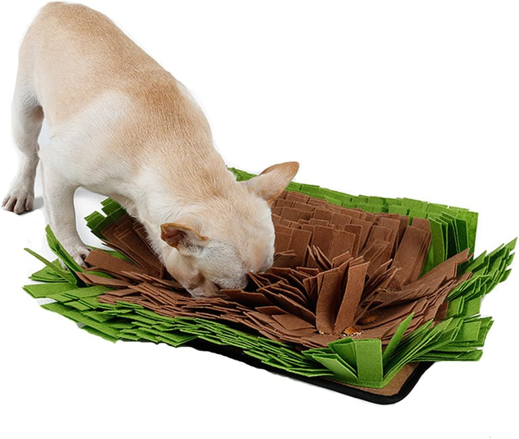 Financial sales sale Schnappy Dog Snuffle Mat Play Work Nose In a popularity Yummy for Encou