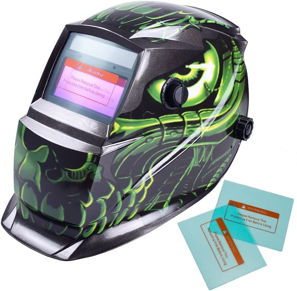 iMeshbean New product Solar Power Auto Darkening Welding with Helmet Sh Wide Animer and price revision