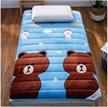 Futon Mattress, Soft Comfortable Mattress Dormitory Bedroom Tatami Bed Portable Mattress for Daily Use Bedroom Furniture M...