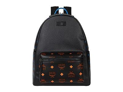 MCM Color Splash Logo Backpack Medium