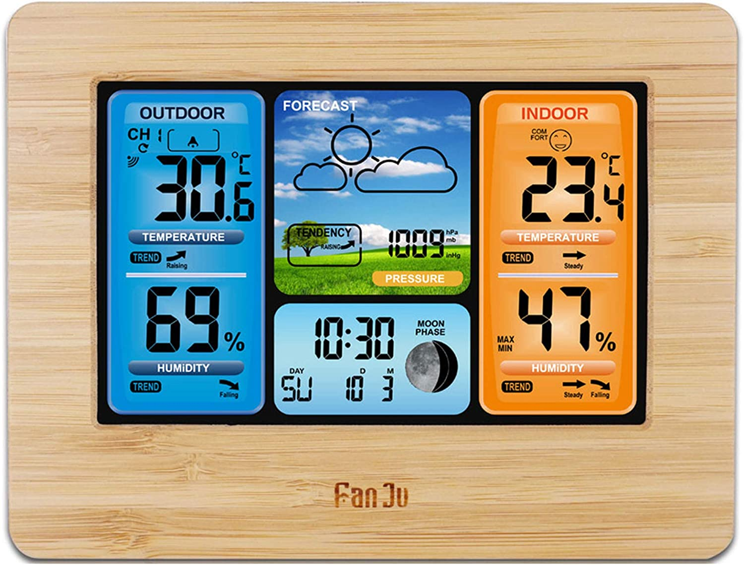 HPDOM supreme Home Surprise price Weather Stations Wireless Color Weath Outdoor Indoor
