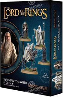 Games Workshop Middle Earth Strategy Battle Game: Saruman The White & Grima