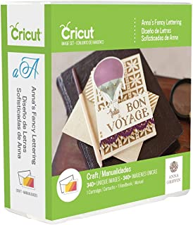 Cricut Anna's Fancy Lattering Cartridge Décor Digital Set