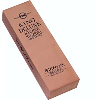 KING Japanese Whetstone Combination PB-04 #800//#6000 for Carbon Steel