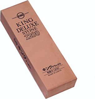 JAPANESE King Delux Knife Sharpening Stone Grit 1200 (japan import)