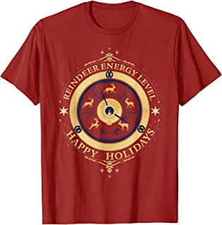 Christmas Chronicles Reindeer Energy Level T-Shirt