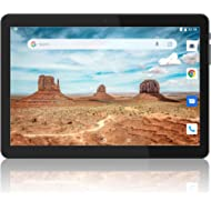Tablet 10 inch, Android 8.1 Tablet PC, 16GB, 5G WiFi and Dual Camera, GPS, Bluetooth, 1280x800...