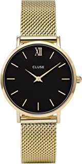 CLUSE Womens Analogue Classic Quartz Connected Wrist Watch with Stainless Steel Strap CL30012