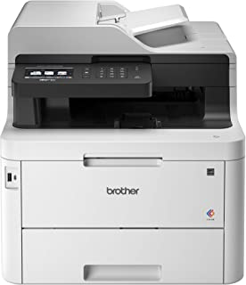 """Brother MFC-L3770CDW Compact Wireless Digital Color All-in-One Printer with NFC, 3.7"""" Color Touchscreen, Automatic Document Feeder, Wireless and Duplex Printing and Scanning"""