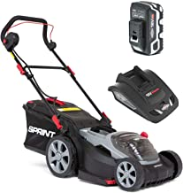 Sprint 18V Cortacésped Litio, 370P18V, 37cm, Incluyendo 1 x 5Ah Batería y Cargador, 5 años de Garantía, 37 cm