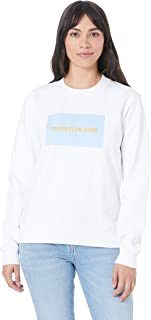 Calvin Klein Jeans Women's Institutional Logo Crew Neck Sweater