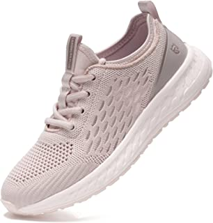 LARNMERN PLUS Chaussures de Sport Femme Léger Sports Sneakers Confort Antidérapante Chaussure de Course Basses Running Fit...