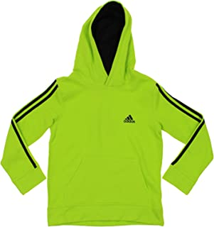 Youth (8-20) Boys Game Time 3-Stripe Pullover Fleece Hoodie, Color Options