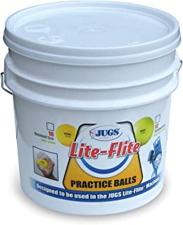 Jugs Lite-Flite Baseballs with Bucket