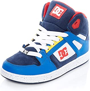 DC Boy's Pure Ht Se B Shoe Leather Sneakers